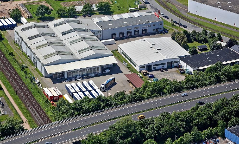 Vorschaubild LOXXESS Dieburg - Luftbild