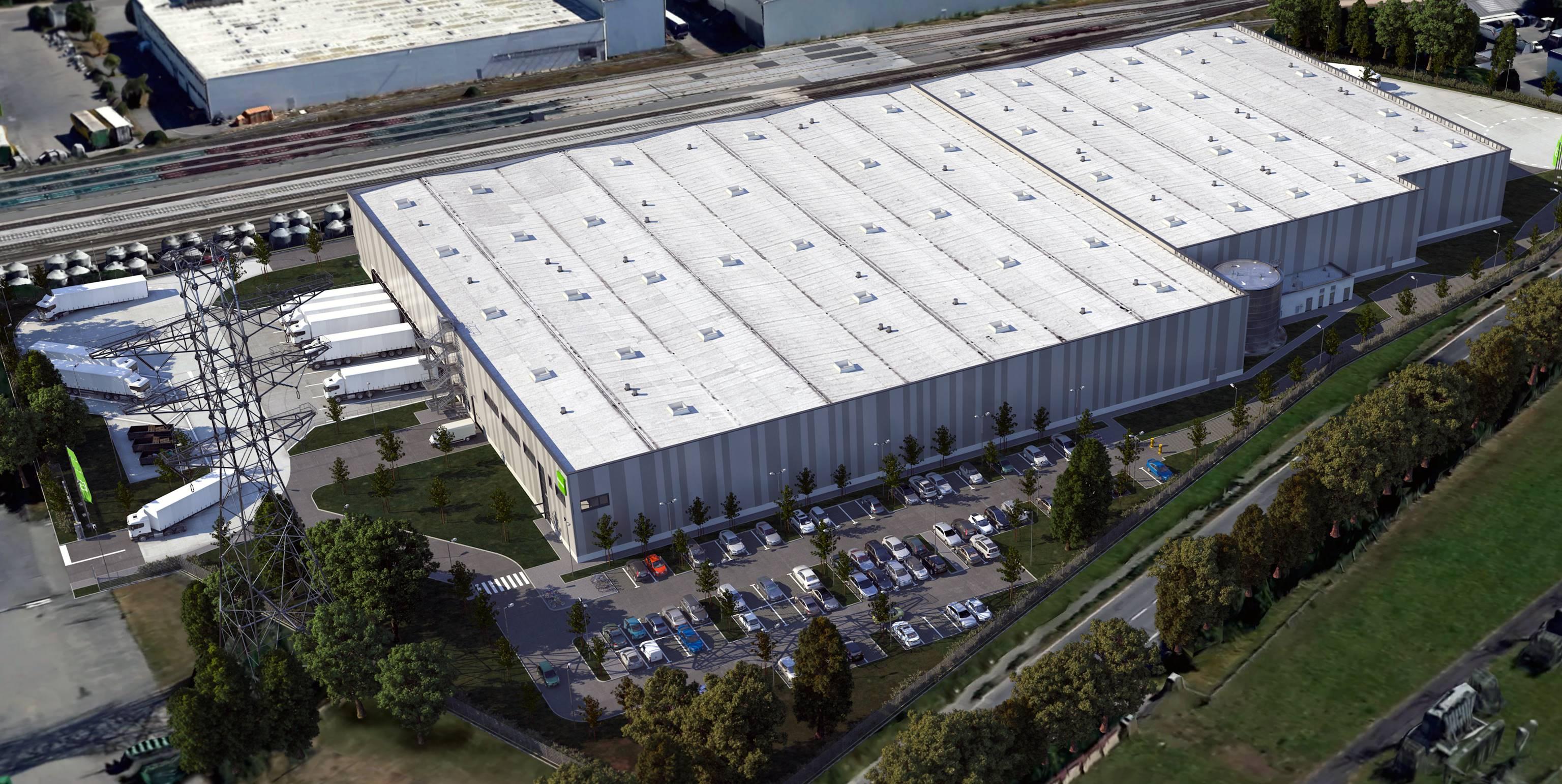 Vorschaubild Logistikzentrum 1