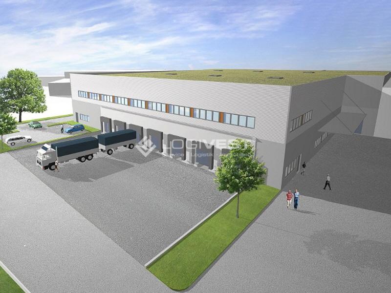 Vorschaubild Neubau-Logistikimmobilie - Musterbild