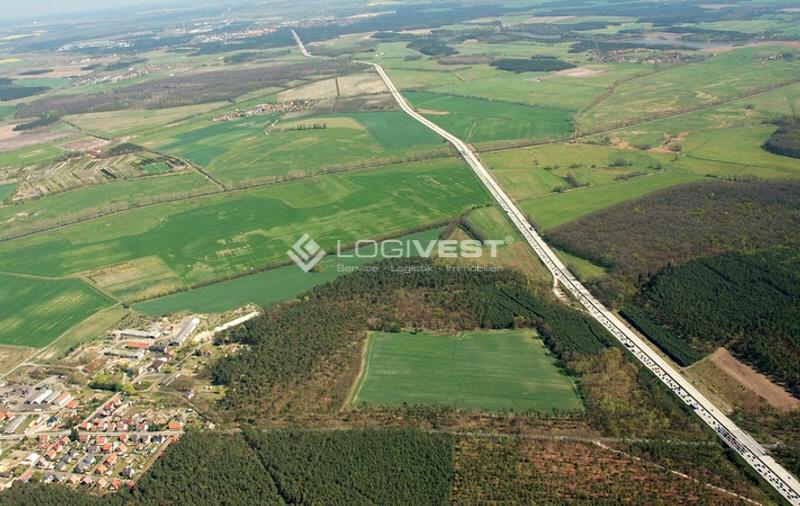 Vorschaubild Musterbild Grundstück Luftansicht