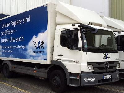 Mobile Vorschaubild LKW Papier Union