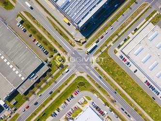 Mobile Vorschaubild Musterbild_Baustelle Buero mit Halle